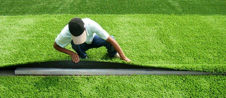 Grass Carpet Fixing